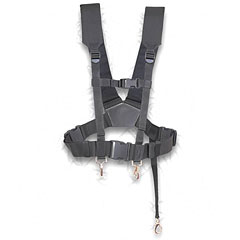 Schwarz Kreuztragegurt f. kl.Trommel « Drum Straps