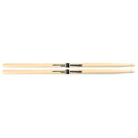 Baquetas para batería Promark Hickory 5A Wood Tip
