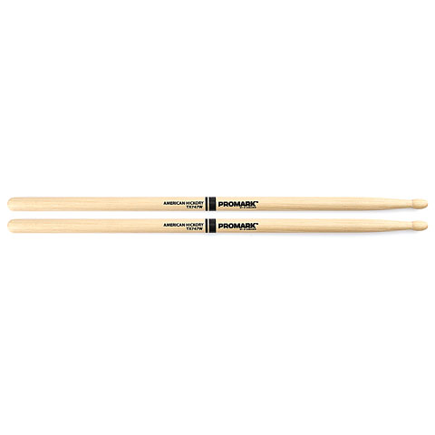 Promark Hickory 747  Rock  Wood Tip