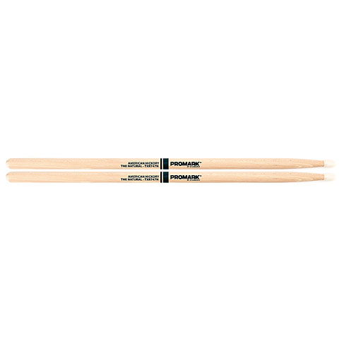 Promark Hickory 747  The Natural  Nylon Tip