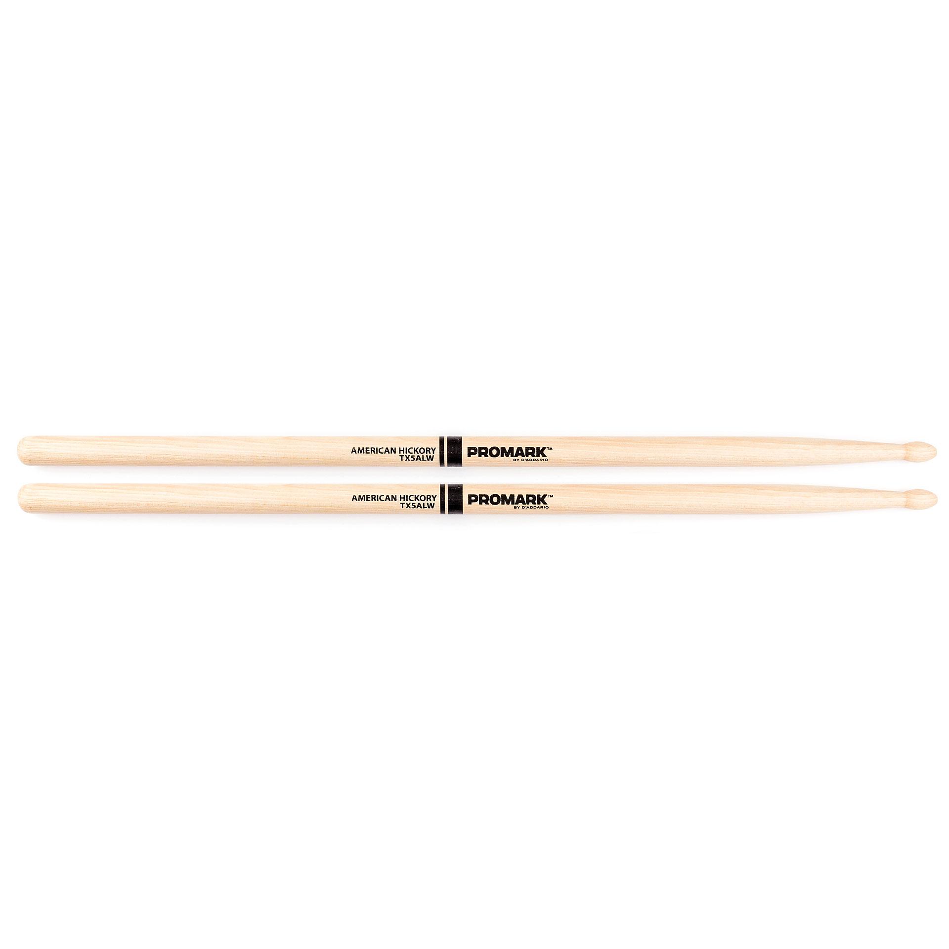 promark hickory 5al wood tip drumsticks. Black Bedroom Furniture Sets. Home Design Ideas