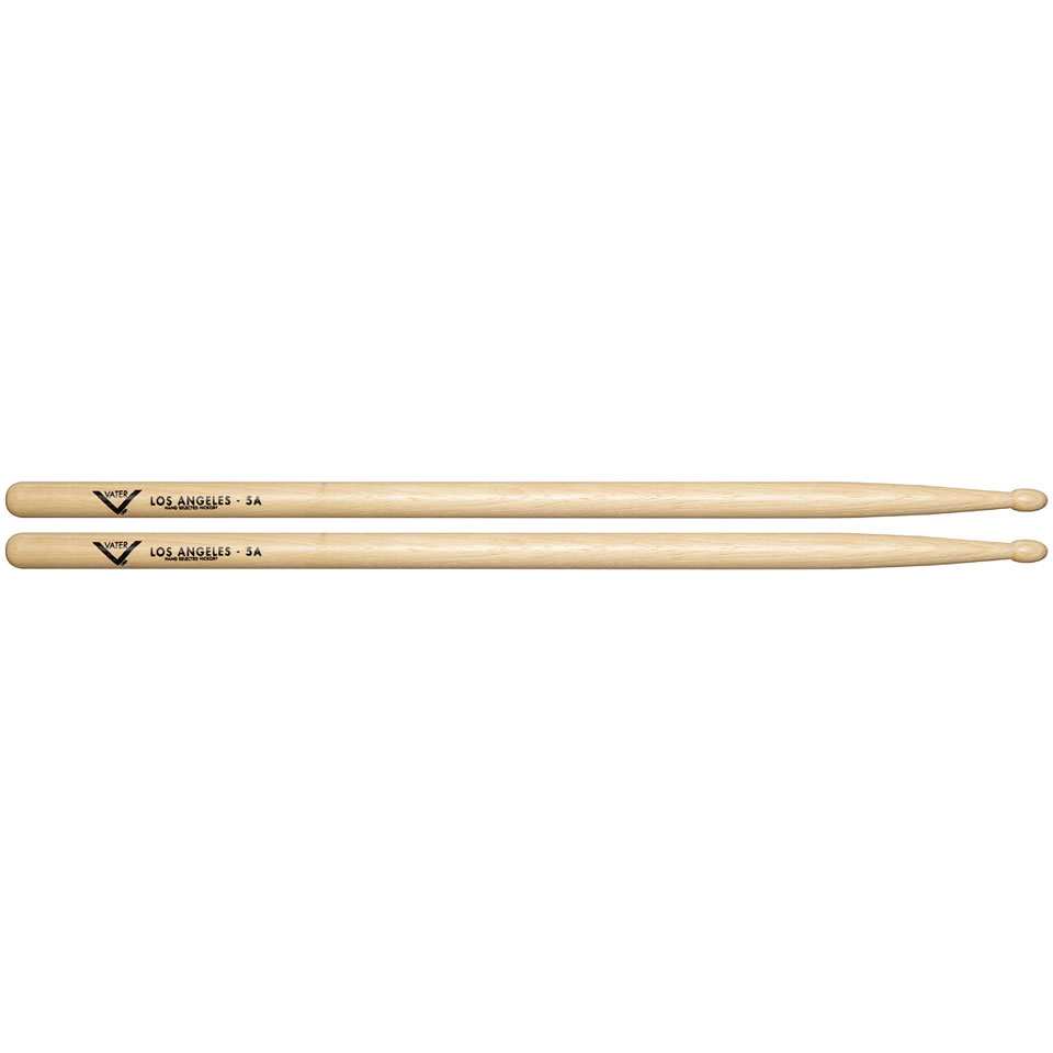 vater american hickory los angeles 5a wood drumsticks. Black Bedroom Furniture Sets. Home Design Ideas