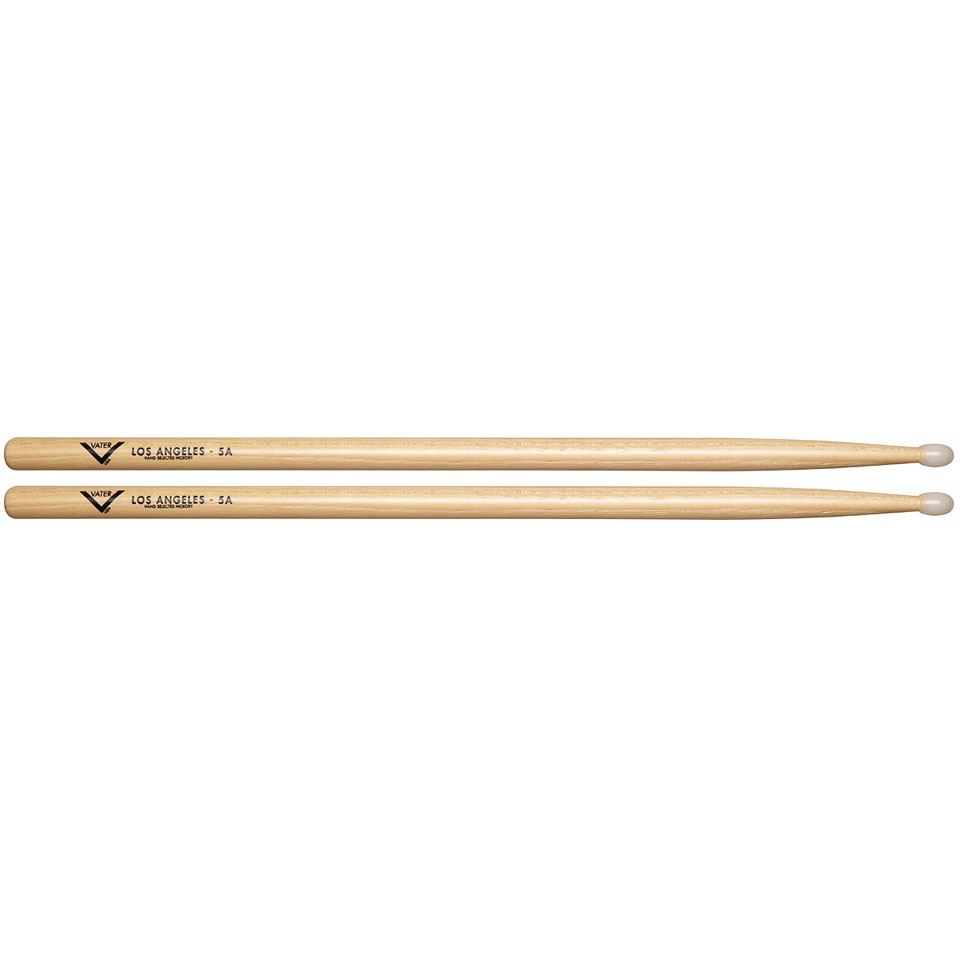 vater american hickory los angeles 5a nylon drumsticks. Black Bedroom Furniture Sets. Home Design Ideas