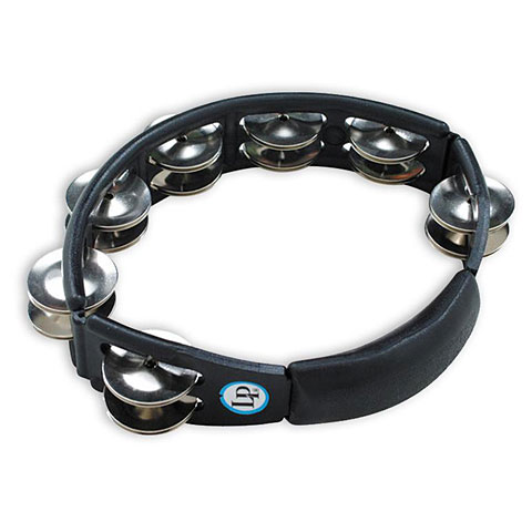 Latin Percussion Cyclop LP150 Steel Jingles Tambourine