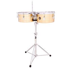 Latin Percussion Tito Puente LP255-B Solid Brass « Timbales