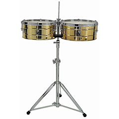 Latin Percussion Tito Puente LP257-B Solid Brass « Timbales