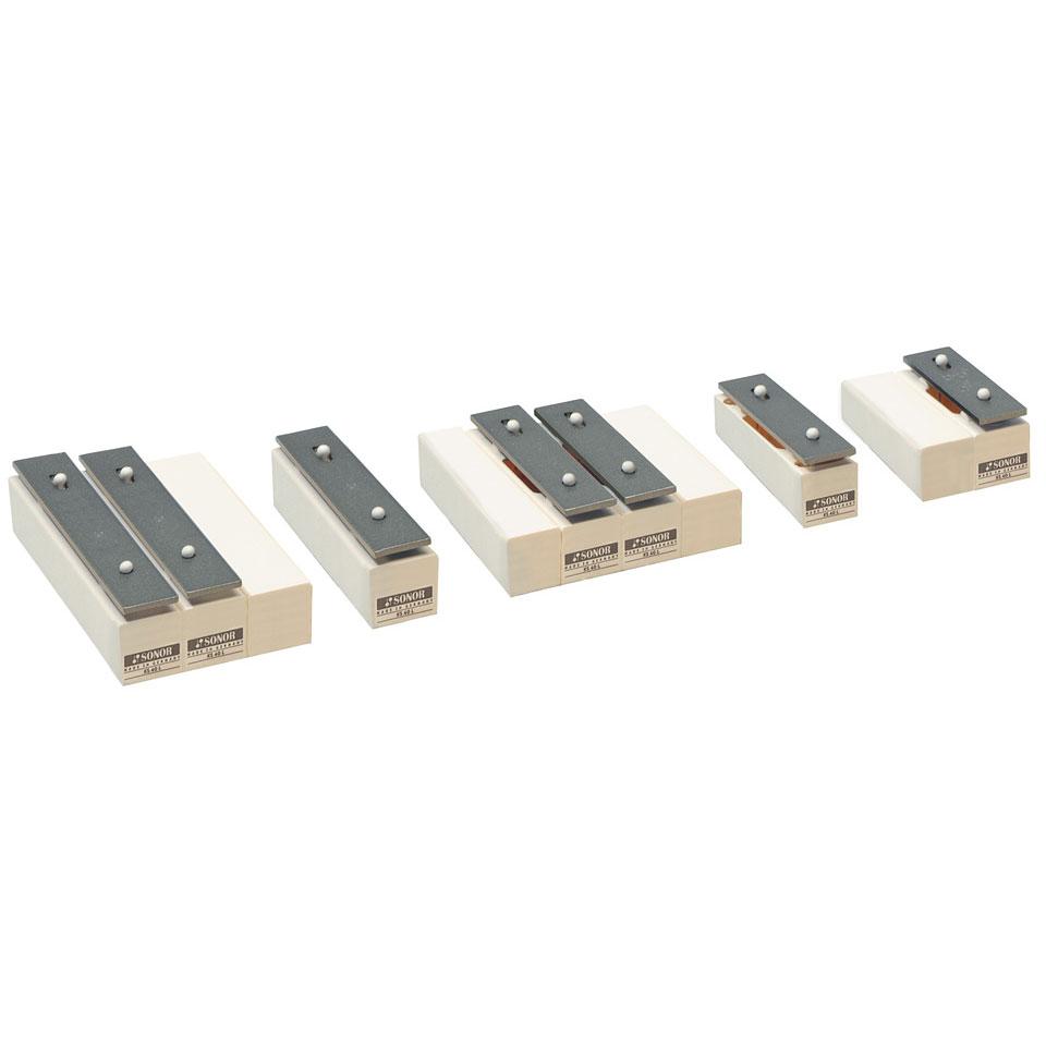 Orffscheinstrumente - Sonor KS40L2 7 Ergänzungsstäbe Klingende Stäbe - Onlineshop Musik Produktiv