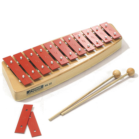 Glockenspiel Sonor NG10 Diatonic Soprano Glockenspiel