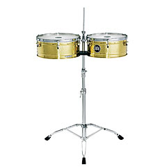 """Meinl Artist Series Luis Conte Brass Timbale 14"""" + 15"""" « Timbales"""