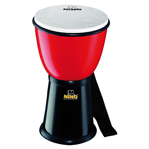 Djembe Nino 18R/BK Red Black
