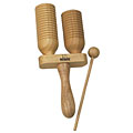Cloche Agogo Nino 560 Wooden Agogo, Percussion, Batterie/Percussions