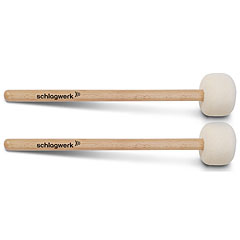 Schlagwerk Bass Mallets MA105 Felt Head Pair