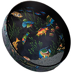 "Remo Ocean Drum 16"" x 2,5"", Fish Graphic « Ocean-drum"