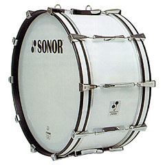 "Sonor Professional Line 26"" x 14"" Marching Bass Drum White « Bombo de marcha"