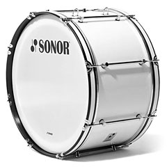 "Sonor B Line 26"" x 14"" Marching Bass Drum White « Bombo de marcha"