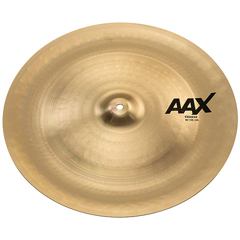 "Cymbale China Sabian AAX 18"" Brilliant Chinese"
