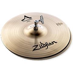 """Zildjian A Custom 14"""" HiHat « Cymbale Hi-Hat"""