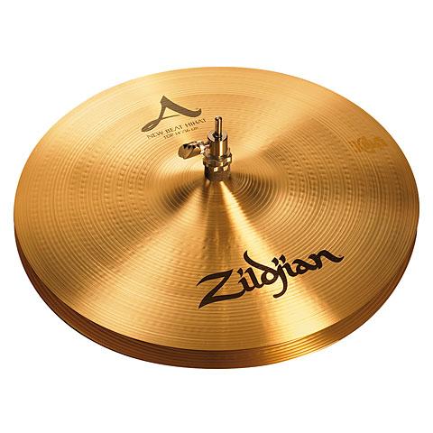 """Cymbale Hi-Hat Zildjian A 14"""" New Beat HiHat"""
