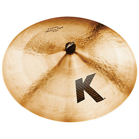 "Cymbale Ride Zildjian K Custom 22"" Medium Ride"
