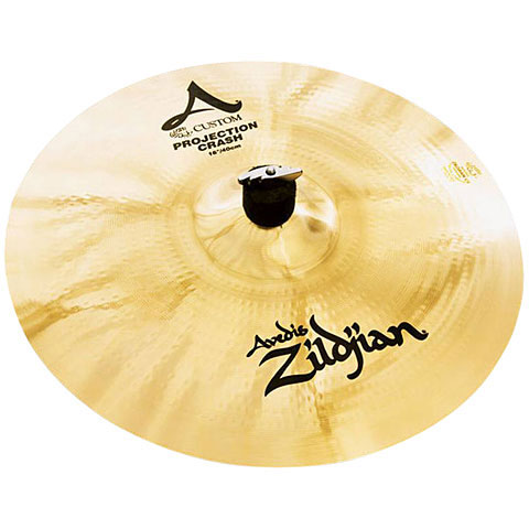 "Crash Zildjian A Custom 16"" Projection"