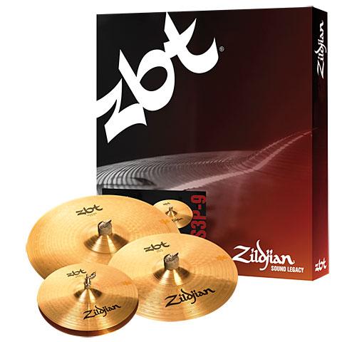 Zildjian ZBT 3 Starter Cymbal Set