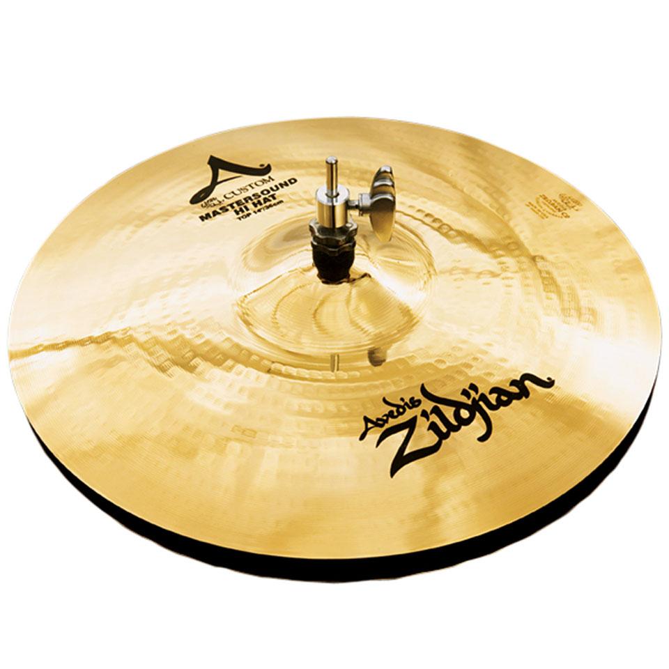 Becken - Zildjian A Custom 14 Mastersound HiHat Hi Hat Becken - Onlineshop Musik Produktiv