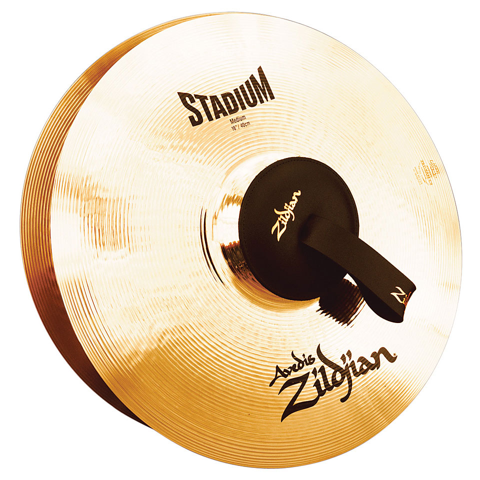 zildjian avedis marching cymbals 16 stadium medium pair marching cymbals. Black Bedroom Furniture Sets. Home Design Ideas