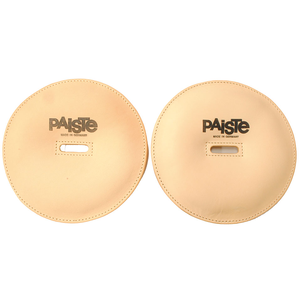 Marching - Paiste Concert Marching Cymbals Leather Pads Pair Marsch Zubehör - Onlineshop Musik Produktiv