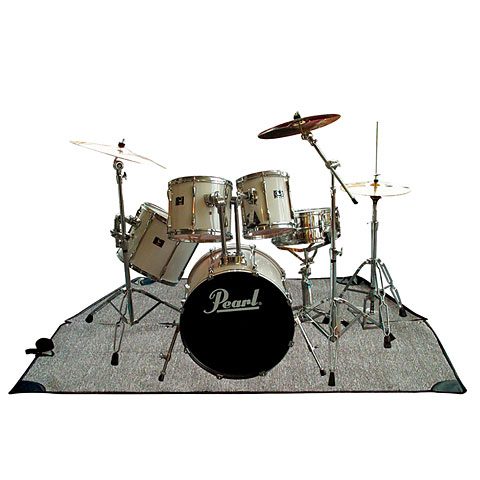 Rockbag Drum Rug Grey 200 x 200 cm