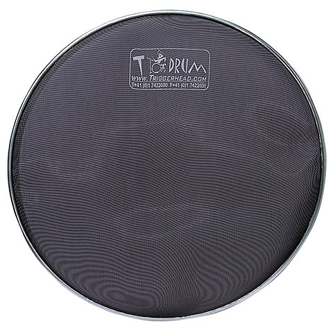 "TDrum 20"" Black Bass Drum Mesh Head"