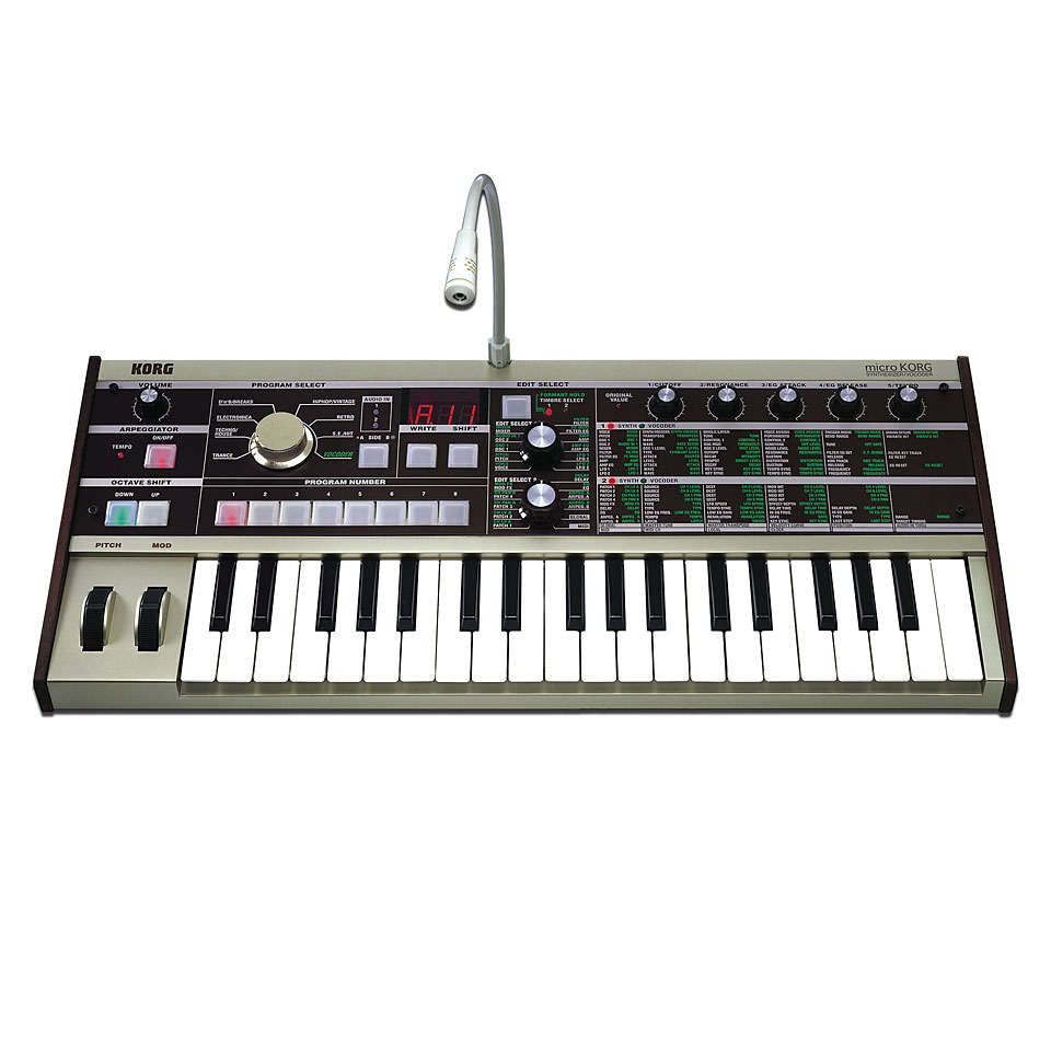 Synthesizer - Korg microKorg Synthesizer - Onlineshop Musik Produktiv