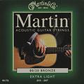 Set di corde per chitarra western e resonator Martin Guitars M 170