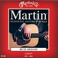 Set di corde per chitarra western e resonator Martin Guitars M 140