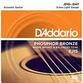 Cuerdas guitarra acúst. D'Addario EJ15 .010-047