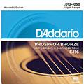 Cuerdas guitarra acúst. D'Addario EJ16 .012-053