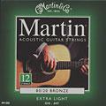 Set di corde per chitarra western e resonator Martin Guitars M 180