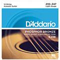 Set di corde per chitarra western e resonator D'Addario EJ38 .010-047