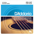 Western & Resonator Guitar Strings D'Addario EJ38 .010-047