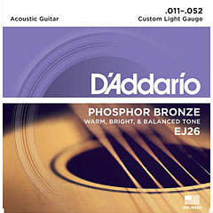 D'Addario EJ26 .011-052 « Western & Resonator Guitar Strings