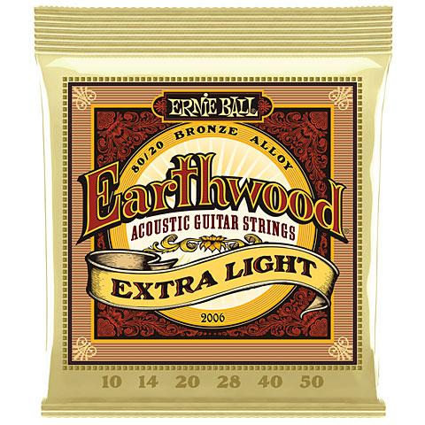 Saiten Westerngitarre Ernie Ball Earthwood EB2006 010-050
