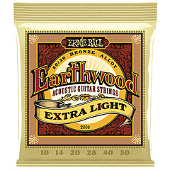 Ernie Ball Earthwood Extra Light 80/20 Bronze 2006 .010-050 « Saiten Westerngitarre