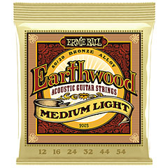 Ernie Ball Earthwood Medium Light 80/20 Bronze 2003 .012-054 « Saiten Westerngitarre