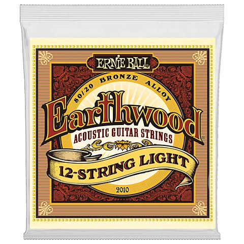 Saiten Westerngitarre Ernie Ball Earthwood EB2010 .009-046 12-String