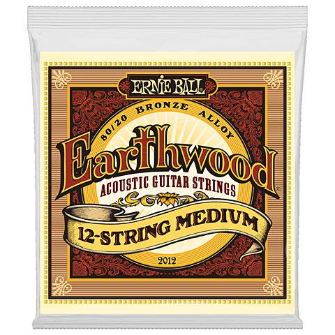 Saiten Westerngitarre Ernie Ball Earthwood 12-String Medium 80/20 Bronze 2012 .011-052