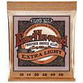 Saiten Westerngitarre Ernie Ball Earthwood Extra Light Phosphor Bronze 2150 .010-050