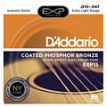 Saiten Westerngitarre D'Addario EXP15 .010-047