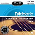 Струны для акустической гитары  D'Addario EXP16 .012-053