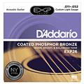 Струны для акустической гитары  D'Addario EXP26 .011-052