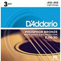 Set di corde per chitarra western e resonator D'Addario EJ16-3D .012-053