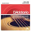 Cuerdas guitarra acúst. D'Addario EJ17 .013-056